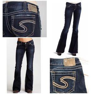 "Silver Jeans Co Western Frances 22"" Boot Cut Jeans"
